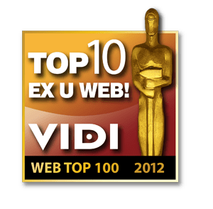 Vidi-awards-2012 Top10exU