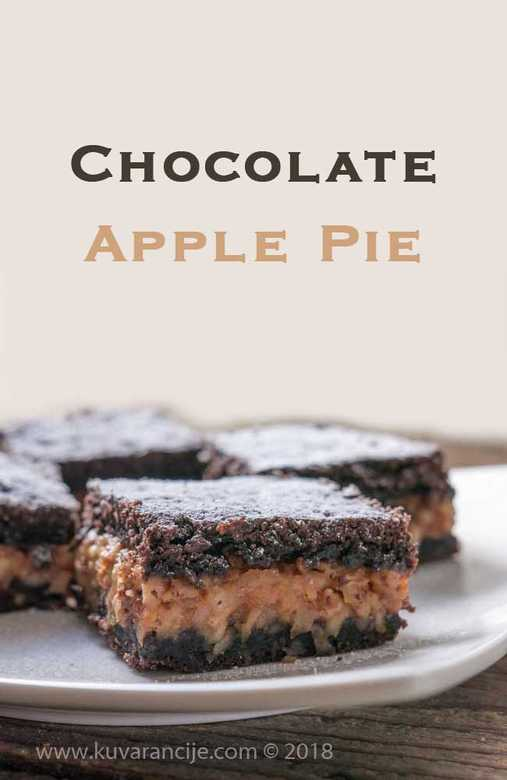 chocolate apple pie