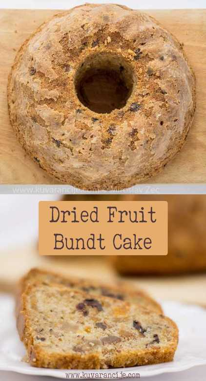 dried fruit bundt cake