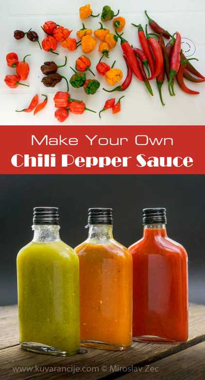 Chili Pepper Hot Sauce