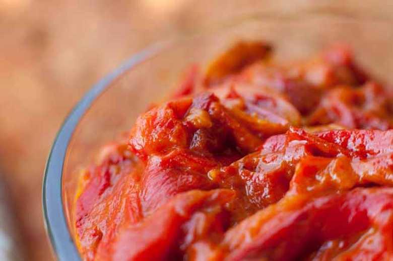 Cepkani ajvar sa paradajzom